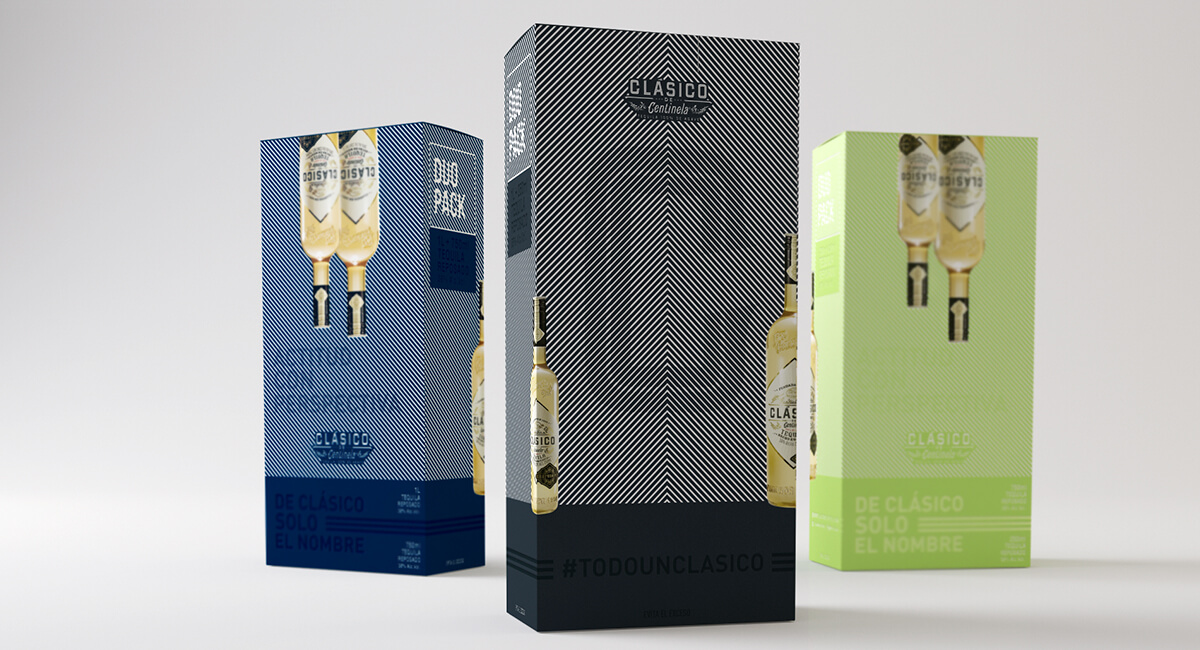 Tequila Clásico Packaging