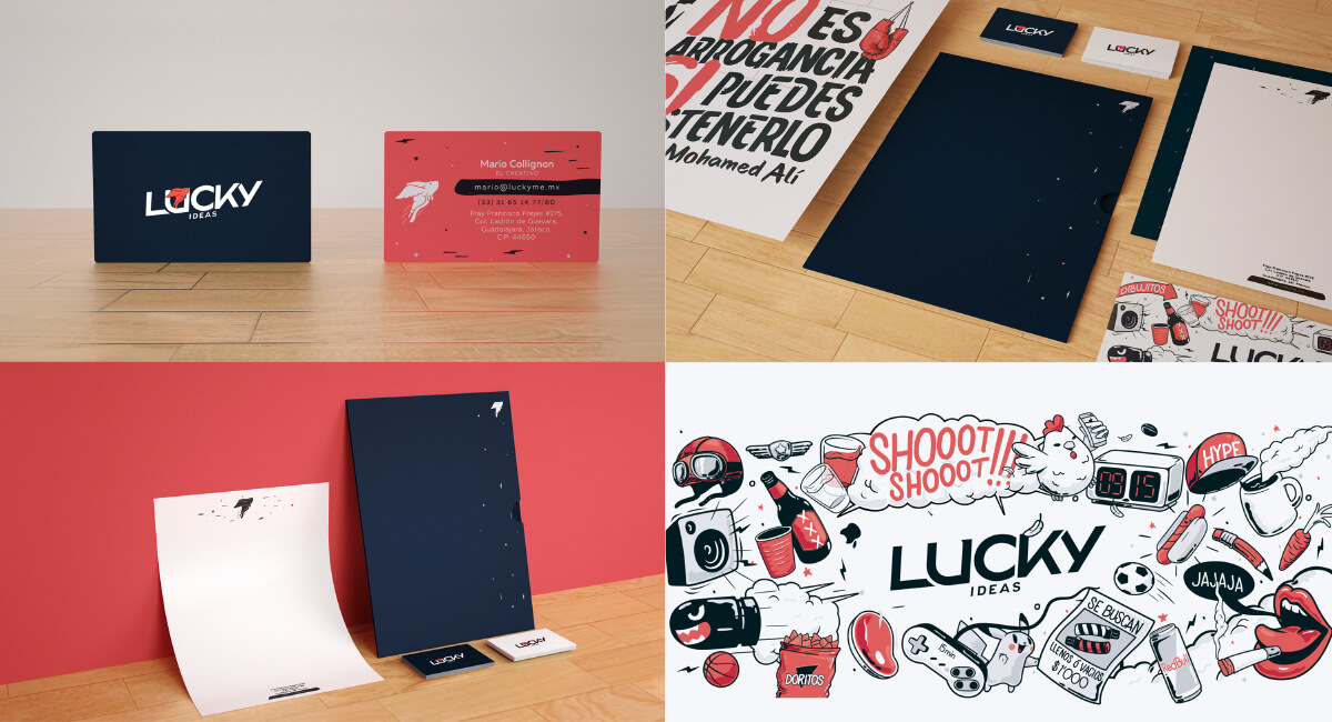 Lucky Ideas Stationery